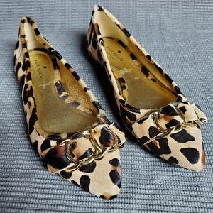 Kate Spade leopard flats size 7